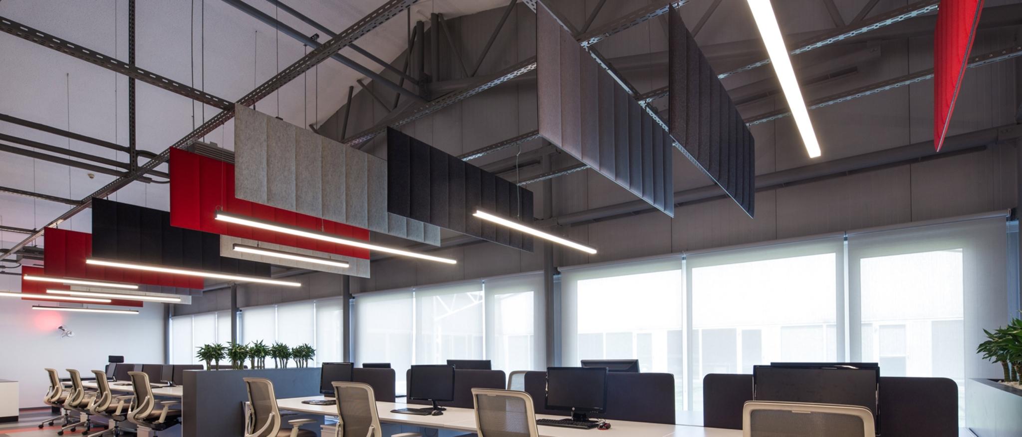panneaux acoustiques bureaux