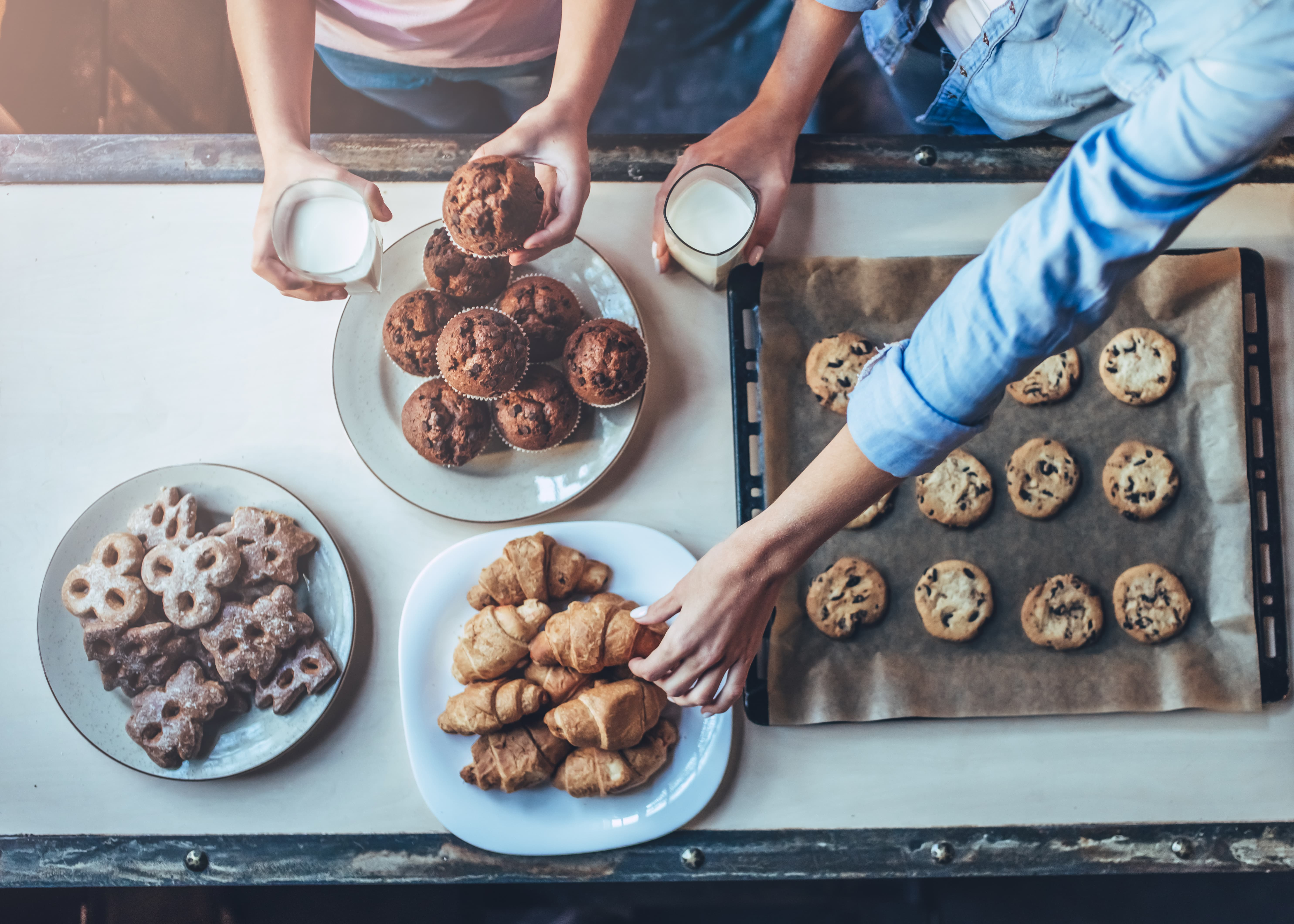 Biscuits pour accompagner le café
