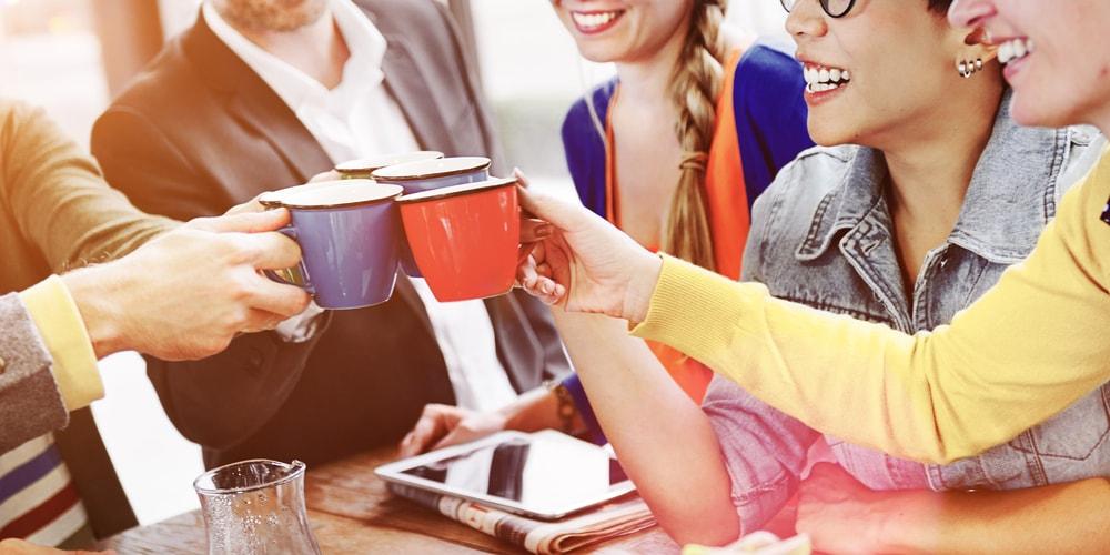 pause-café entre collègues